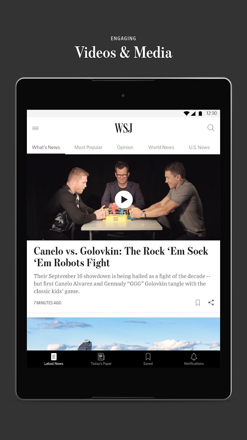 The Wall Street Journal: Business & Market News Screenshot 14