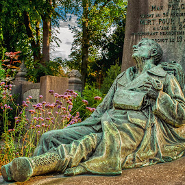 Gone too Young by Keith Reling - City,  Street & Park  Cemeteries ( cemetery brussels )