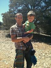 Photo: Daddy Helps Finn Hike