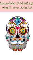🌈 Skull Mandala  For Aduls 🌈 - screenshot thumbnail 02