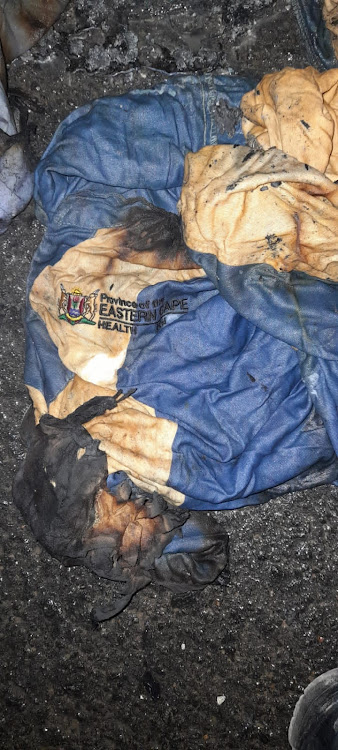 The Eastern Cape health department has launched an investigation after hospital linen and clothes were found dumped and burned.