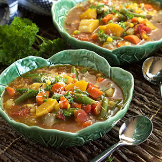 Vegetable Soup With Beef Broth Recipes