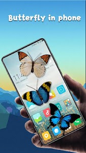 Butterfly in phone prank 4.7.8