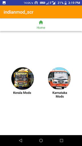 Indian bus mod livery by Kerala App Creators (Google Play