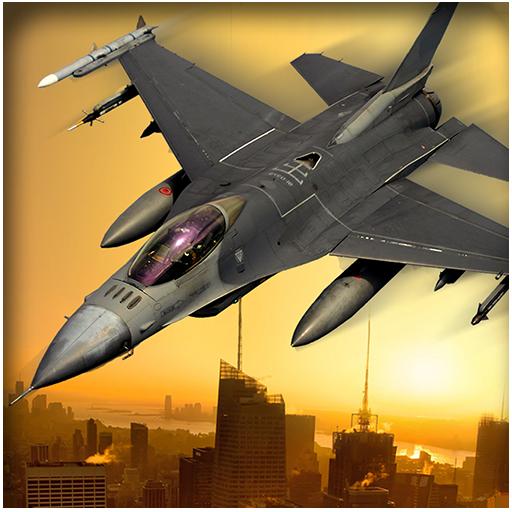 动作の戦闘機はチェイス3Dの空中戦 LOGO-記事Game
