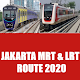 Download Jakarta MRT and LRT Route 2020 For PC Windows and Mac