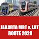 Jakarta MRT and LRT Route 2020 APK