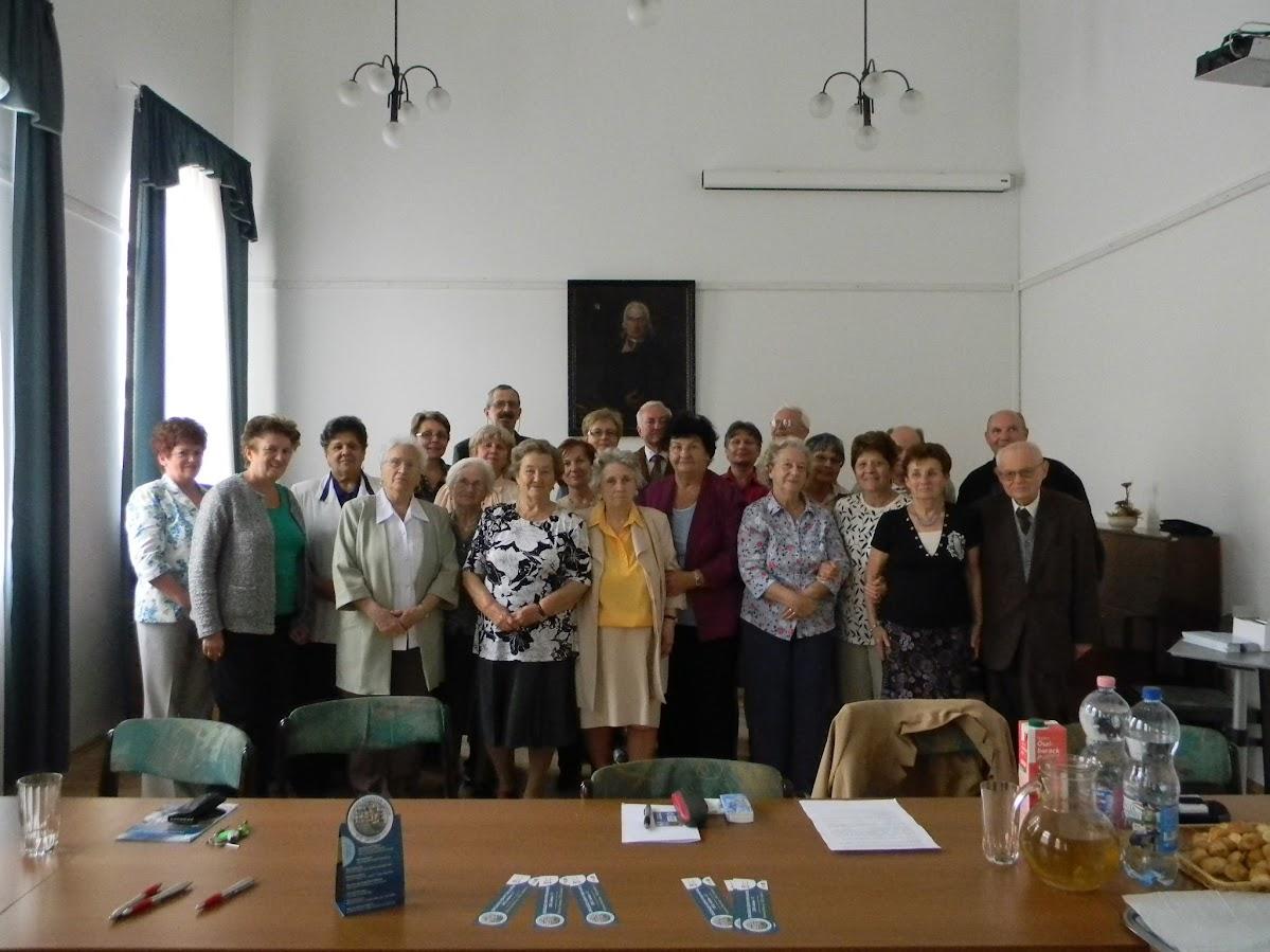 Könyvtárosok csoportképe