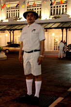 Photo: Year 2 Day 109 - Love the Pith Helmet and Socks