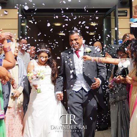 Wedding photographer Davinder Rai (DavinderRai). Photo of 18.10.2016