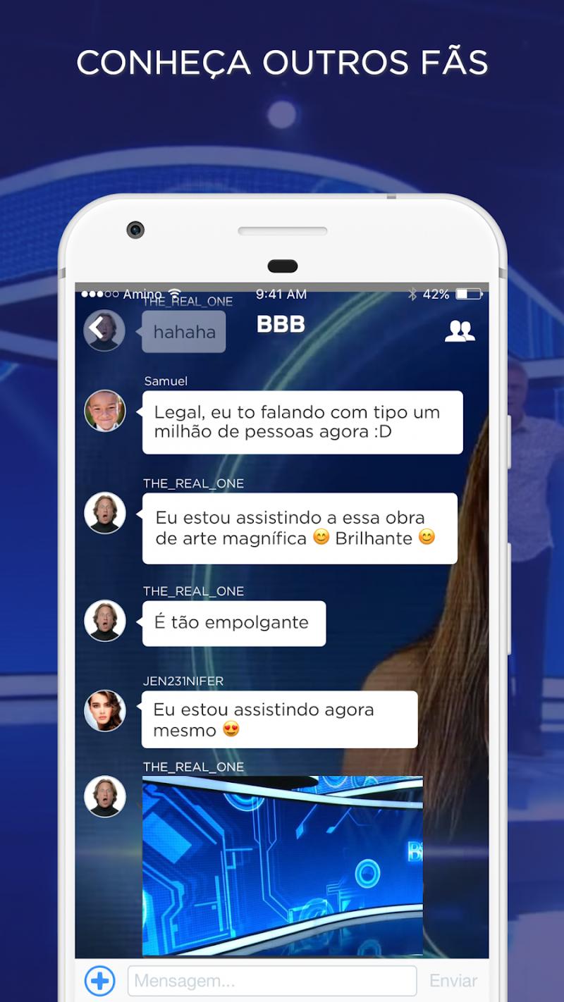Скриншот Big Brother Brasil Amino
