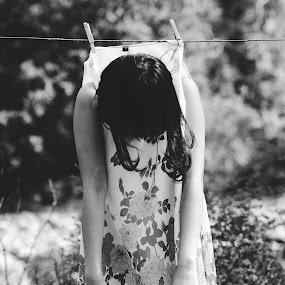 Hanger by Anh Nguyen - People Portraits of Women ( girl, hanger )