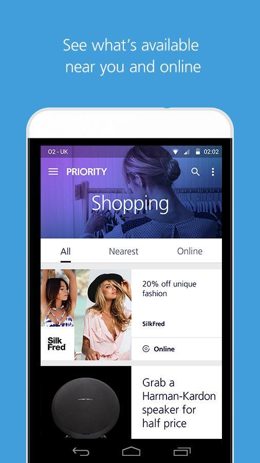 O2 Priority - screenshot