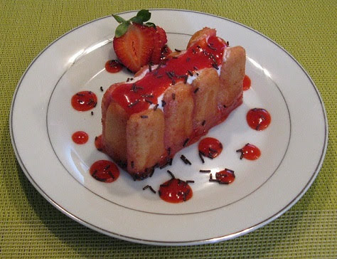 Charlottines aux fraises