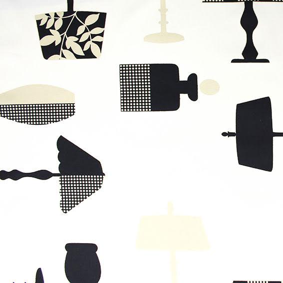 Lampa Bomullstyg - off white