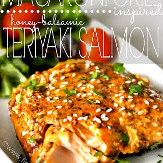 Macaroni Grill Inspired Teriyaki Salmon.