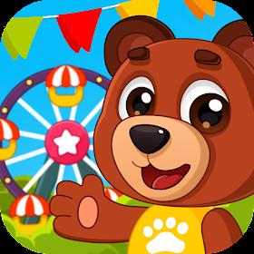 Парк аттракционов : мини игры для детей