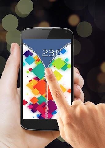 android Zipper Screen Lock 2016 Screenshot 1