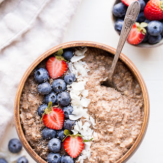Quick Grain-Free Hot Cereal (Gluten Free, Paleo, Whole30 + Vegan).