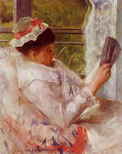 "Photo: Mary Cassatt, ""La lettrice"" (1878)"