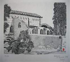 Photo: Chapelle de Salinelles dans le Gard France