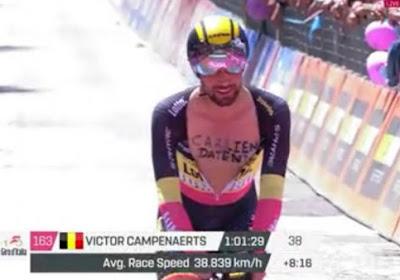 """Het is plezant onder de Belgen in de Giro: """"Campenaerts zei dat Carlien overstelpt wordt met interviews"""""""