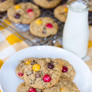 Peanut Butter M M Cookies Oatmeal Recipes
