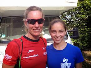 Photo: One of the worlds top athletes Caroline Steffen