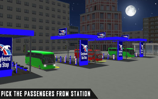 mobile bus driving sim 2018 - tourist coach drive 1.1 screenshots 5