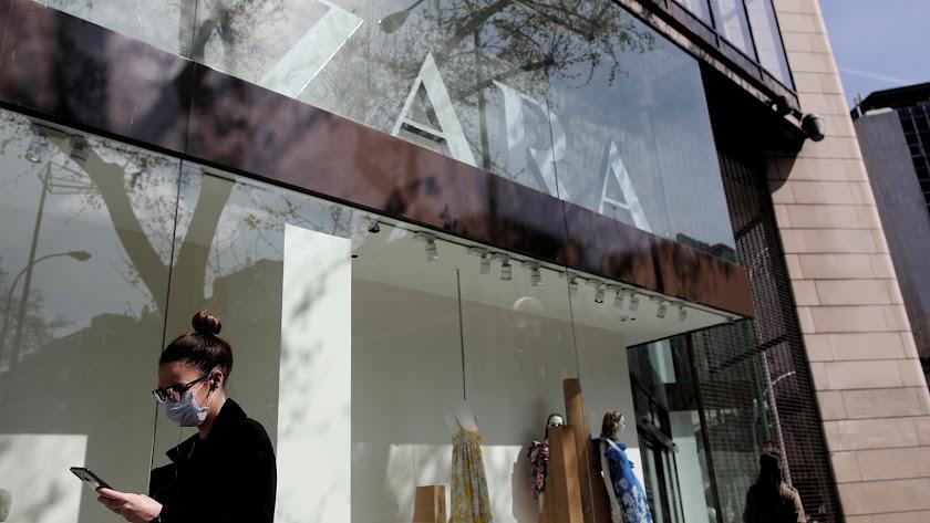 El escaparate de la tienda Zara.