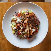 Blackened Chicken & Goat Cheese Salad