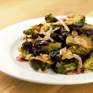 Dijon Bacon Brussels Sprouts