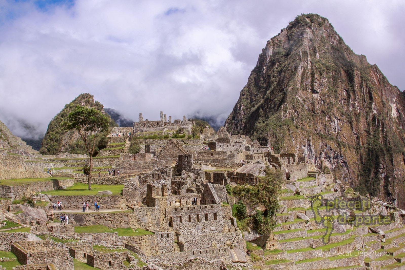 ruine ale orasului Machu Picchu