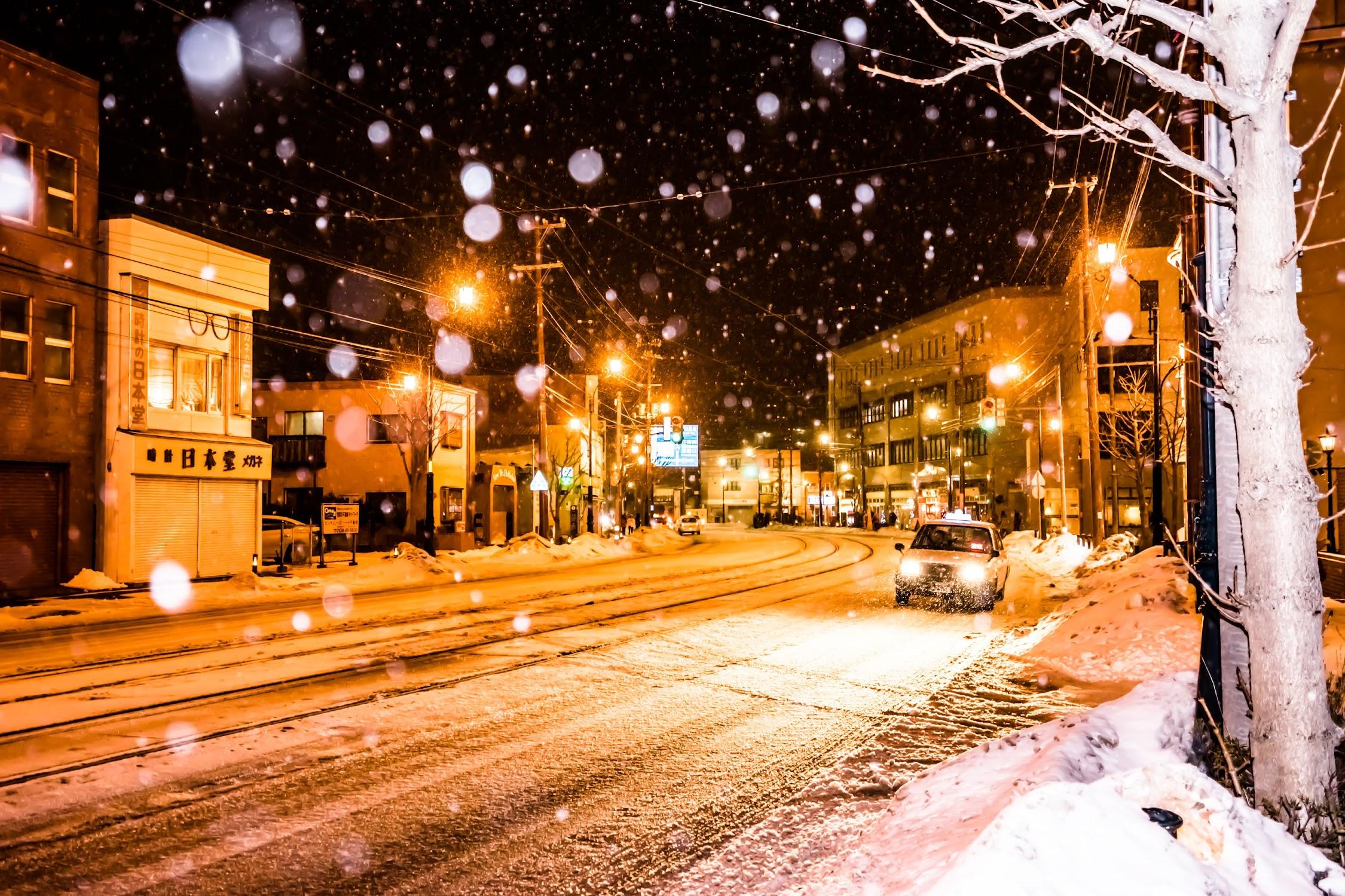 Hakodate snow