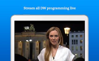 Screenshot of DW - Breaking World News