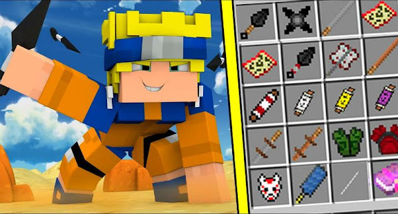 Naruto Mod For Minecraft PE Apps Bei Google Play - Skins para minecraft pe de naruto