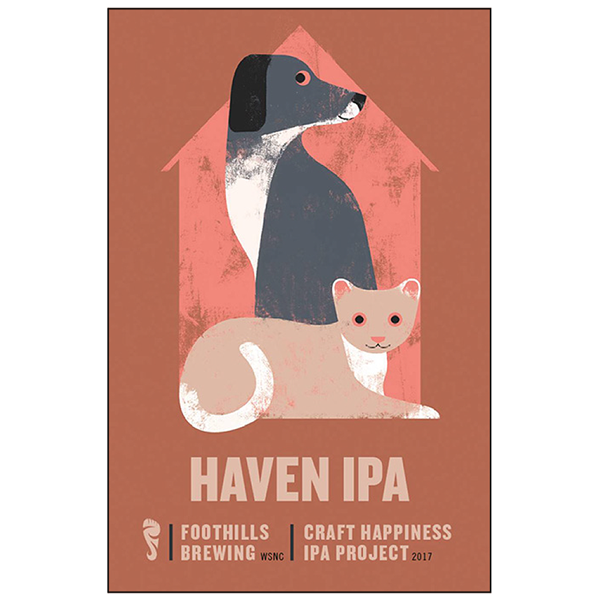 Logo of Foothills Craft Happiness IPA Project: Haven