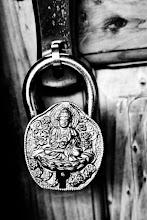 Photo: The lock at our door, Tiger Eye Guest House, Manali, Himalachal Pradesh, Indian Himalaya