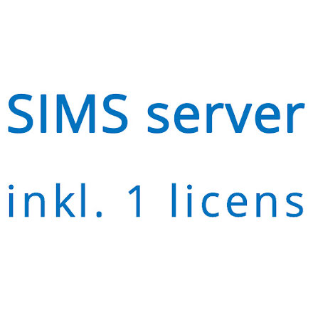 SIMS V6 inkl. 1 licens - NOX Software