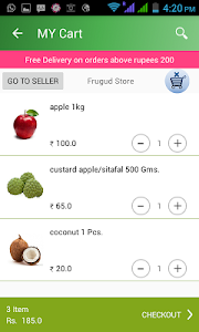 Frugud - Online Grocery Basket screenshot 4