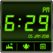 Digital Clock with Live Wallpaper & Alarm Clock