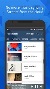 CloudBeats - offline & cloud music player Screenshot