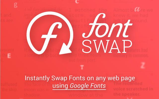 Font Swap - for Google Fonts