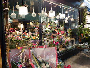 Photo: Kelly loved the flower shops