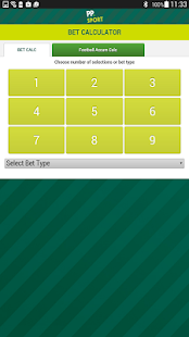 Paddy Power's Bet Calculator- screenshot thumbnail