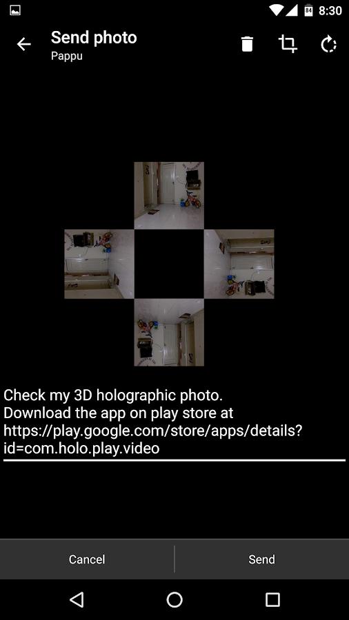 Hologram Video Player