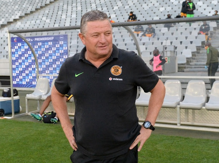 Gavin Hunt, head coach of Kaizer Chiefs. Picture: RYAN WILKISKY/BACKPAGE PIX​