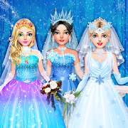 Ice Princess Wedding Dress Up Stylist