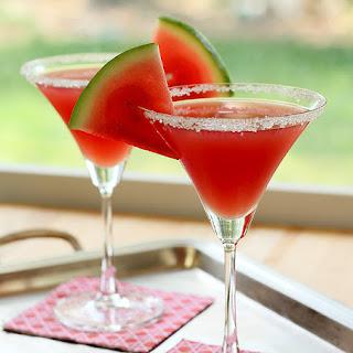 Watermelon Martini.