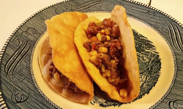 Crispy Beef & Bean Tacos Recipe